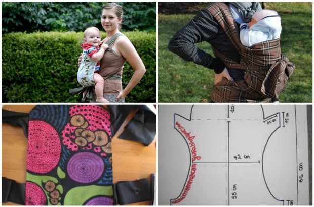 Famoso Come creare una fascia porta bebè: 12 facili idee da realizzare  ES73
