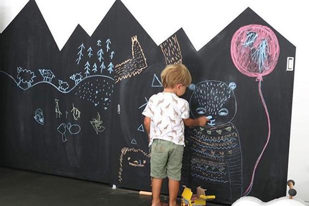 6 idee creative per dipingere le pareti della cameretta for Camerette dwg