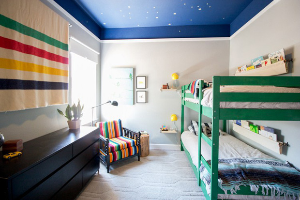 Molto 6 idee creative per dipingere le pareti della cameretta  PQ17
