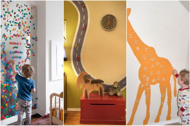 6 idee creative per dipingere le pareti della cameretta - Pittura per cameretta ...