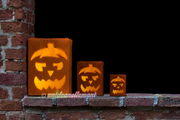 Facili lavoretti di halloween da fare insieme ai bambini for Zucca halloween luminosa