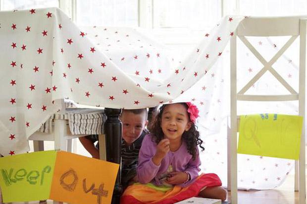 Divertenti attivit e giochi per bambini da fare in casa - Nascondigli in casa ...