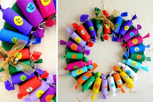 Calendario dell 39 avvento per bambini 10 idee facili da for Tubi cartone