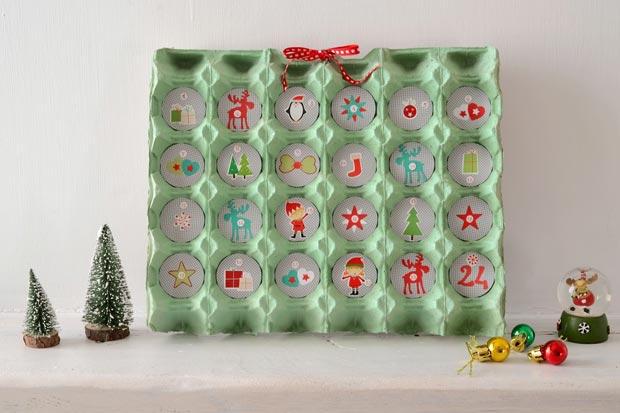 calendario dell 39 avvento per bambini 10 idee facili da realizzare. Black Bedroom Furniture Sets. Home Design Ideas
