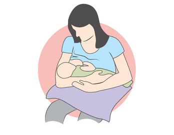 posizione allattamento culla