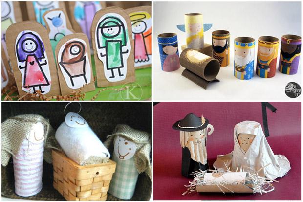 Presepi per bambini fai da te tante originali idee facili for Creare cose in casa
