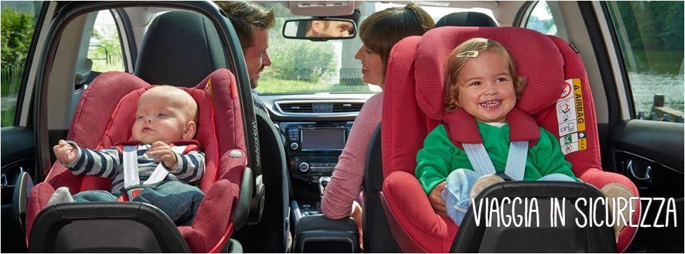 Seggiolini auto: le nuove norme dal 2017 in poi