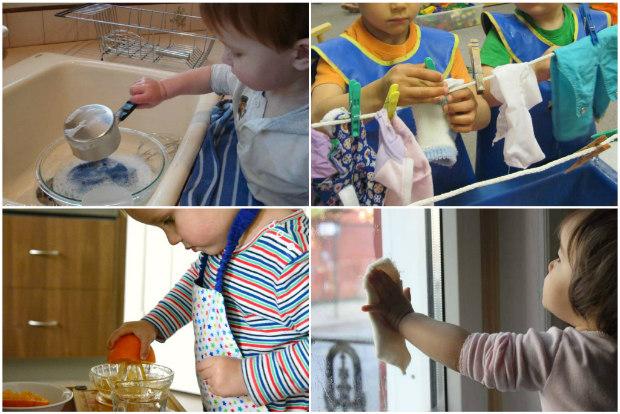 Attivit e giochi montessori per bambini di 2 anni for Cucinare per bambini 7 anni