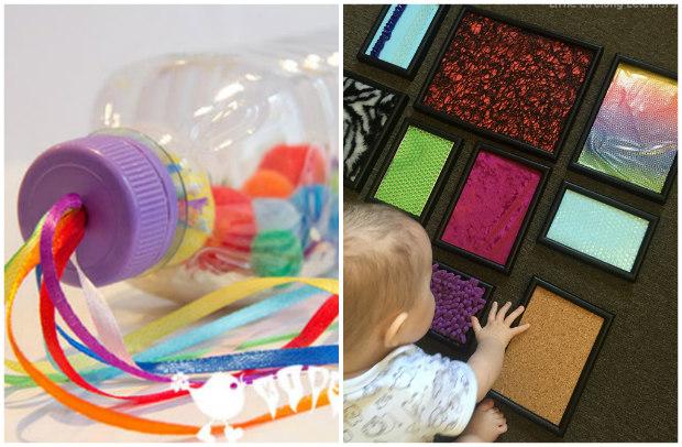 Metodo montessori giochi fai da te per neonati attivit 0 for Oggetti utili fai da te