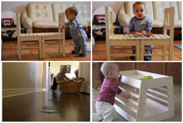 Attivit e giochi montessori per bambini 1 anno a costo for Mobile per bambini