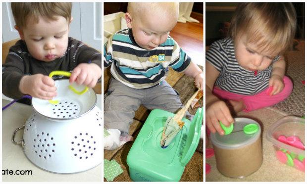 Attività e giochi Montessori per bambini 1 anno a costo zero - PeriodoFertile