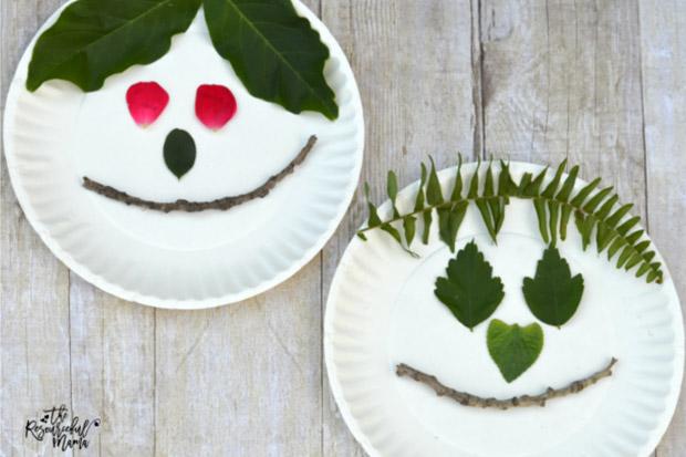 Popolare Attività manuali per bambini: lavoretti creativi con le foglie  VI74