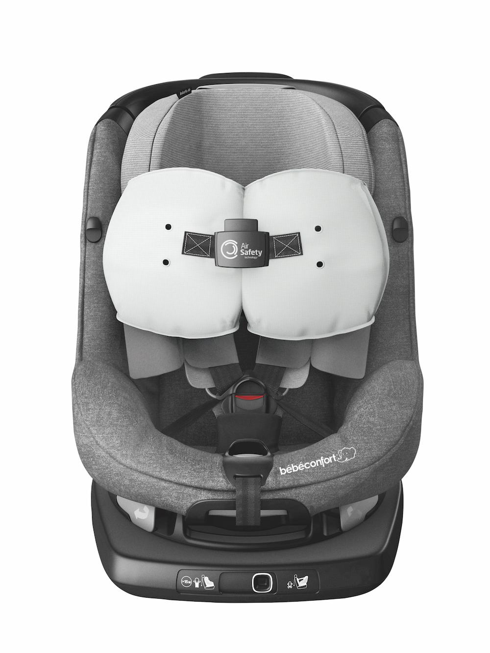 axissfix air il primo seggiolino auto con airbag. Black Bedroom Furniture Sets. Home Design Ideas