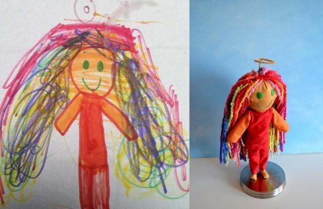 Bambole di pezza per bambini