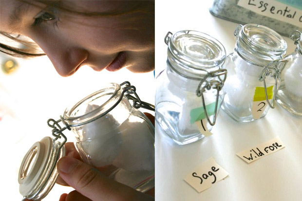 Gioco profumi per bambini