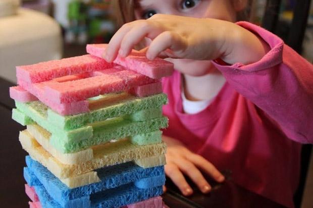 Jenga colorato per bambini