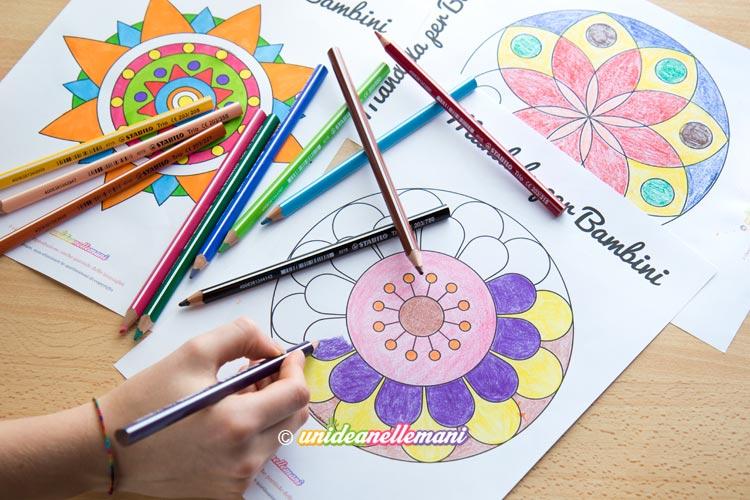 Mandala per bambini