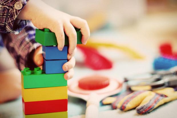 giocare con i Lego