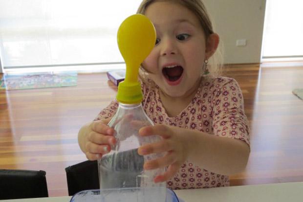 Super 7 divertenti attività ed esperimenti per bambini con l'Aria FC15