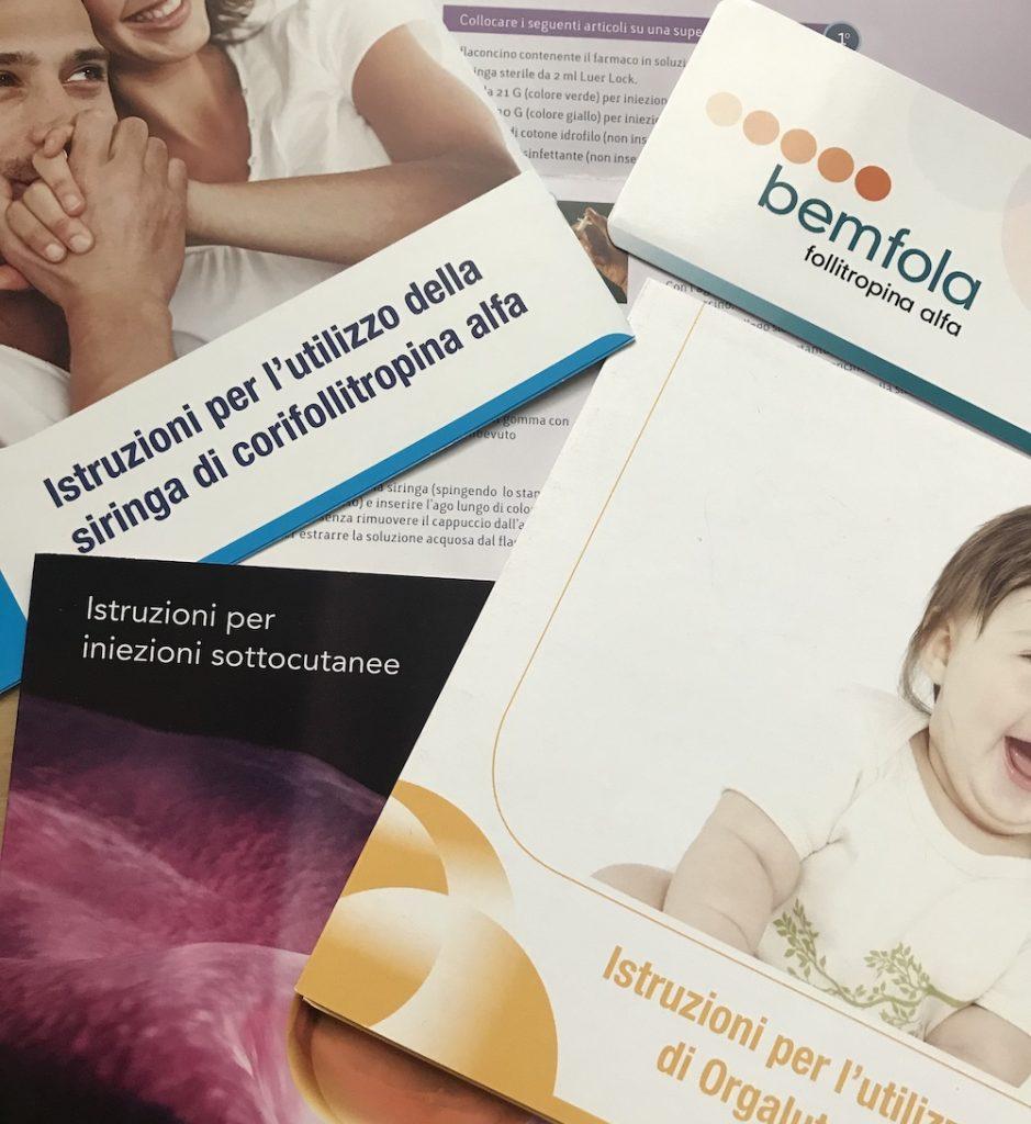 Farmaci protocolli stimolazione fecondazione asistita
