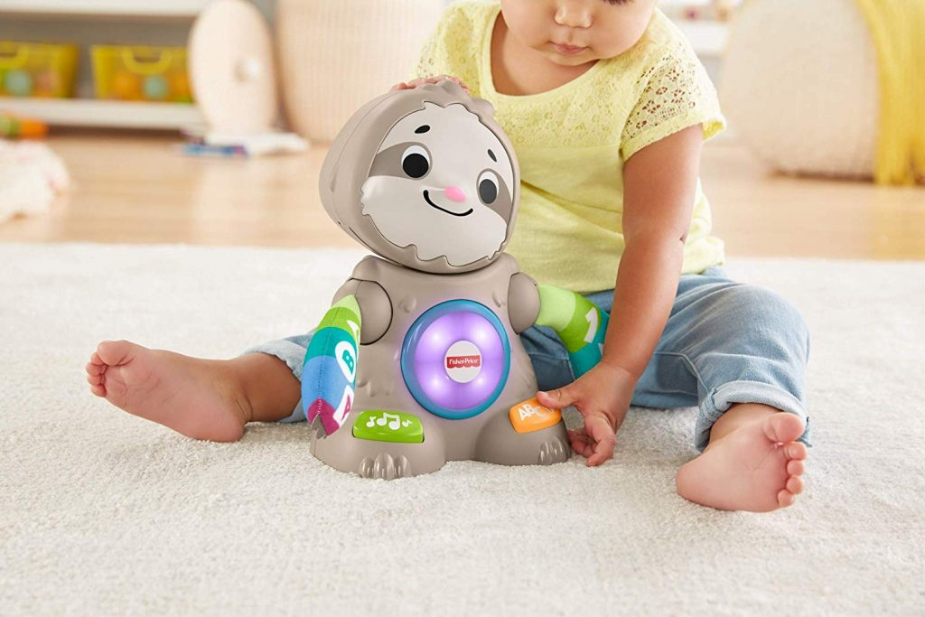 Fisher-Price- Parlamici Baby Bradipo