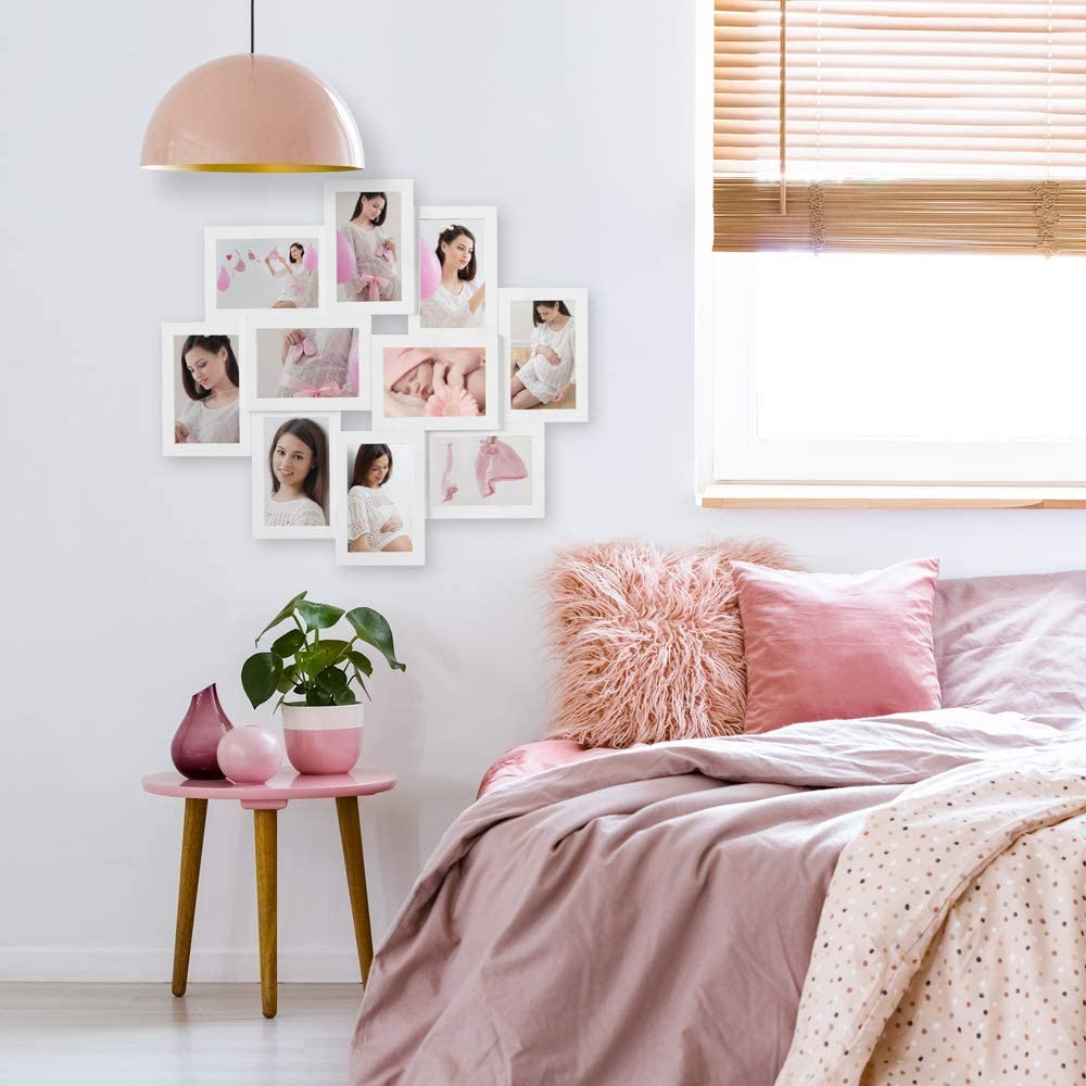 decorare le pareti con le foto